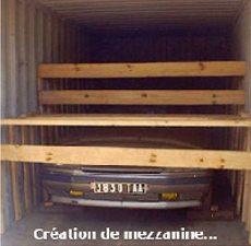 création mezanine